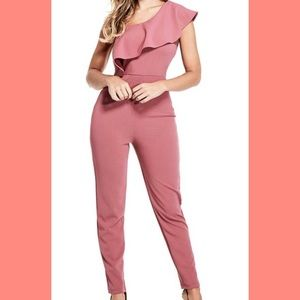 G by GUESS Ruffle Jumpsuit 🌺🌸